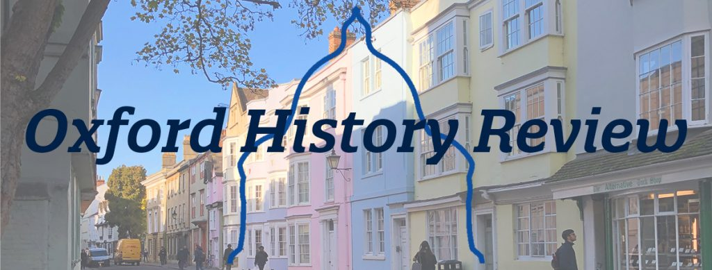 Oxford History Review banner.
