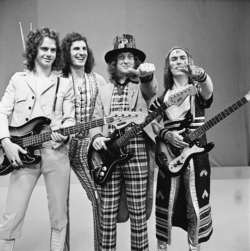Christmas in Crisis 1973 rescued by Slade, the band that made 'Merry Christmas Everybody'.