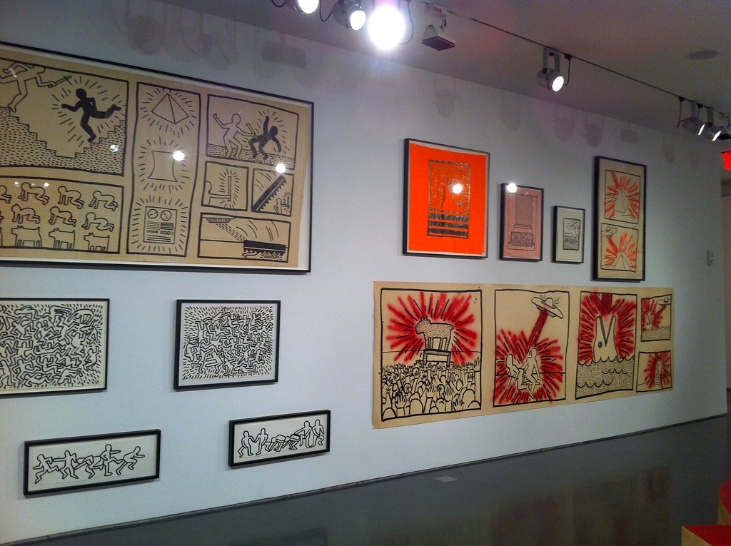 An exhibition of Keith Haring's early work.