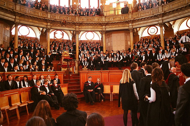 Oxford matriculation: another aspect of Oxford as a museum and university, not a city.