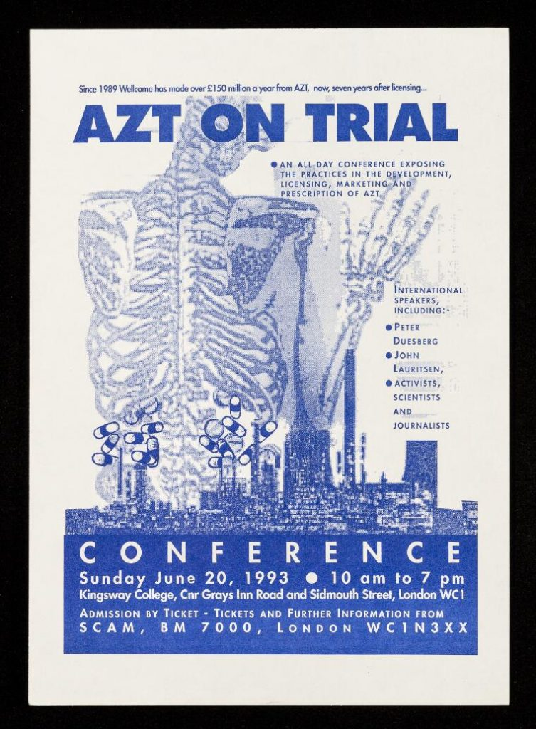 AZT on trial poster.