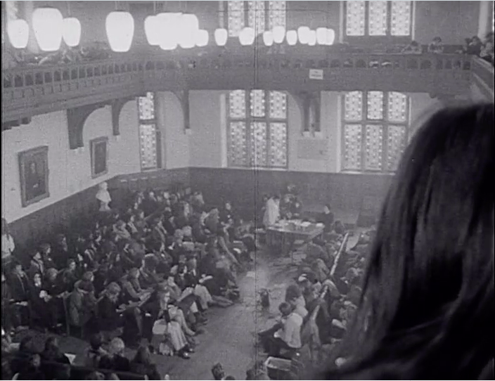 The 1970 Ruskin Conference, held in the Oxford Union.